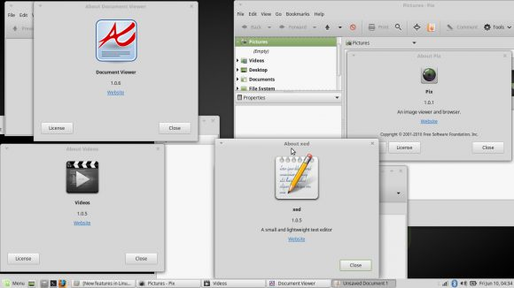 Linux Mint 18 - X-Apps