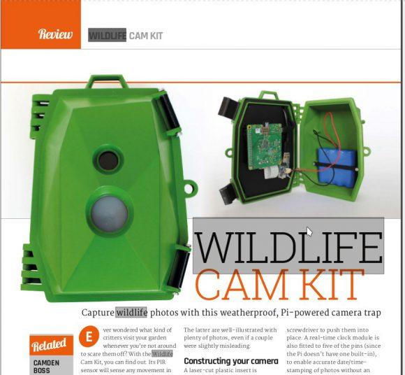 Wildlife Cam mit Raspberry Pi A+
