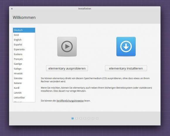 elementary OS 0.4 Beta 2 - ausprobieren oder installieren?