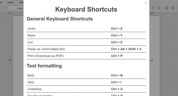 CODE - Keyboard Shortcuts