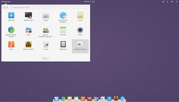 elementary OS 0.4 Loki - Desktop
