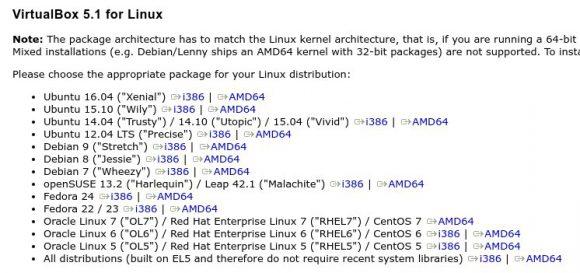 VirtualBox 5.1 ist fertig