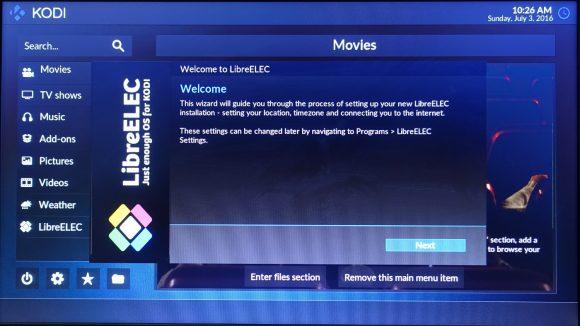 Willkommen zu LibreELEC