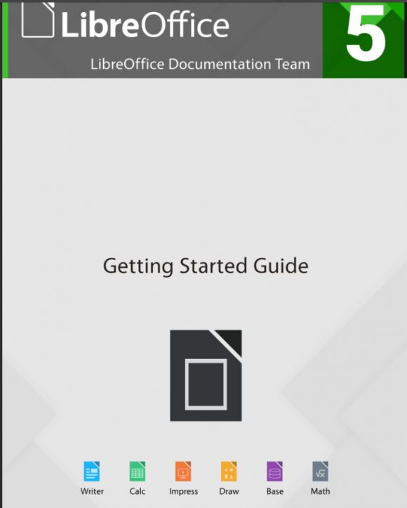 Getting Started Guide for LibreOffice 5.1
