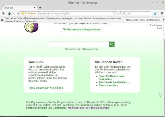 Es wird derzeit untersucht, ob der Tor Browser auch anfällig ist