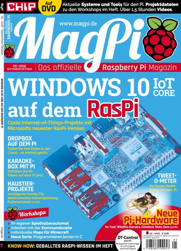 MagPi auf Deutsch (Quelle: raspberrypi.org)