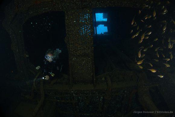 Im Maschinenraum der Ghiannis D