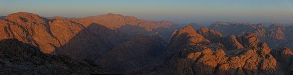 Die Berge im Sinai sind schon beeindruckend