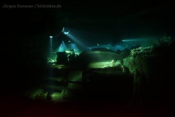 Thistlegorm bei Nacht