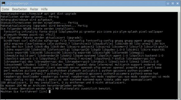 Raspberry Pi aktualisieren: PIXEL kommt ...