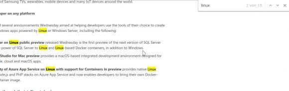 Mehr Linux als Microsoft