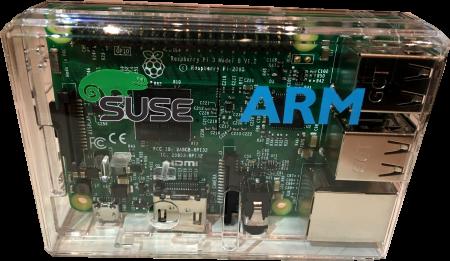 Gehäuse für SUSE Linux Enterprise Server für Raspberry Pi (Quelle: suse.com)
