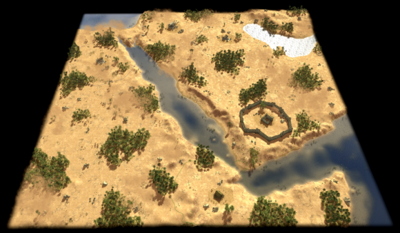 Das Rote Meer bei 0 A.D. Alpha 21 Ulysses (Quelle: play0ad.com)