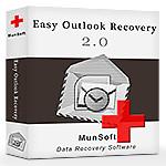 PST-Dateien wiederherstellen? Hier ist die  Lösung mit Easy Outlook Recovery