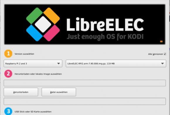 LibreELEC 7.90.008 installieren