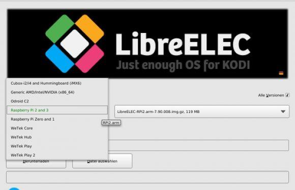 LibreELEC für jede Menge Geräte