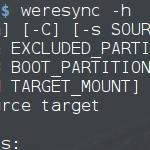 WereSync – eine Mischung aus rsync, GNU Parted und GPT fdisk