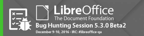 Dritte Bug Hunting Session für LibreOffice 5.3
