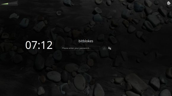Linux Mint 18.1: Bildschirmschoner aktiv