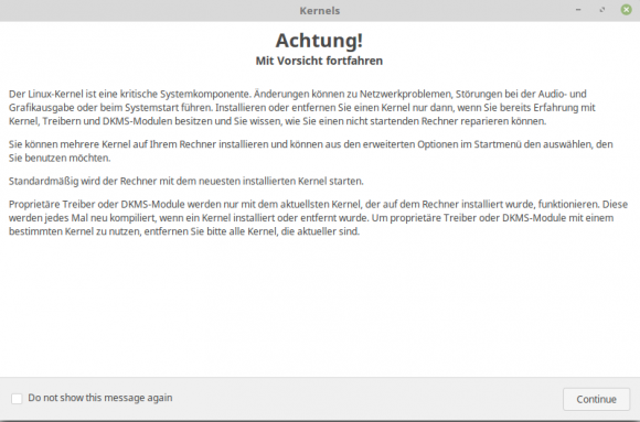 Achtung! Kernel!