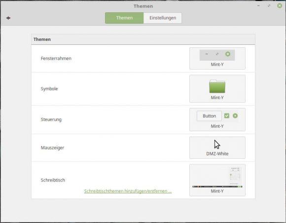 Linux Mint 18.1: Mint-Y