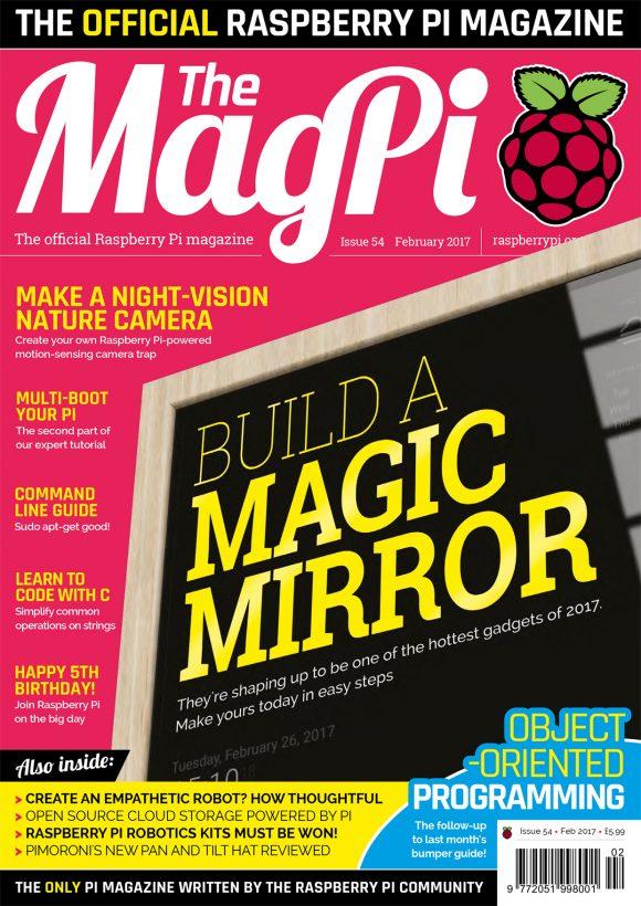 MagPi 54 (Quelle: raspberrypi.org)