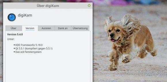 digiKam 5.4.0 ist da