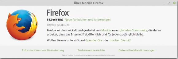 Firefox 51 ist da
