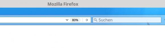 Die Zoom-Schaltfläche in Firefox 51