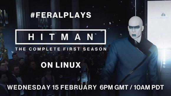 Hitman unter Linux live
