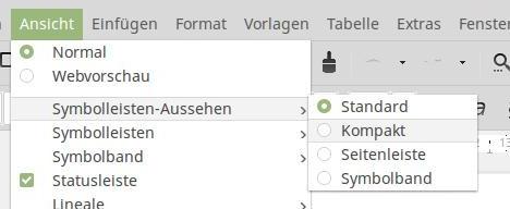 Bei LibreOffice 5.3 MUFFIN nutzen