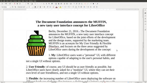 LibreOffice Writer - Standard (Quelle: libreoffice.org)