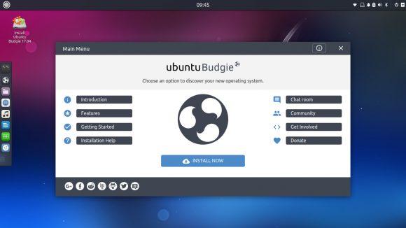 Ubuntu Budgie 17.04 Zesty Zapus Beta