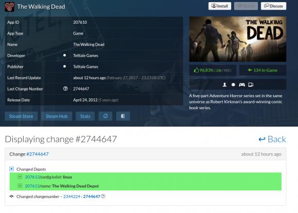 The Walking Dead bald auch für Linux?
