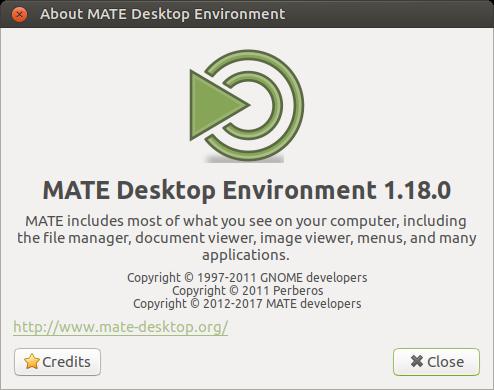 MATE 1.18 ist verfügbar (Quelle: http://mate-desktop.org)