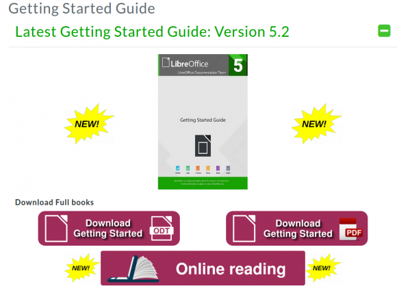 LibreOffice 5.2: Getting started