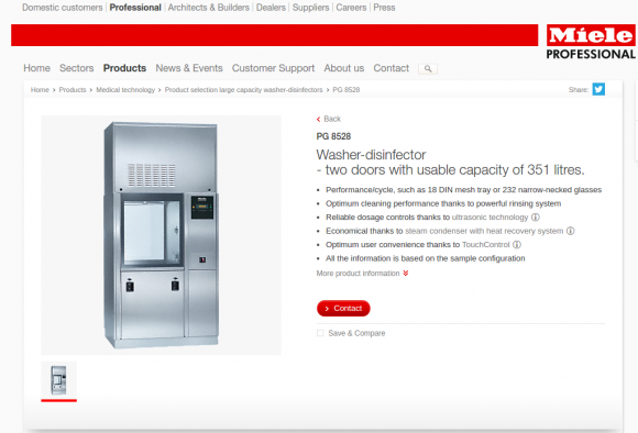 Security-Lücke im Webserver eine Miele-Geschirrspülers