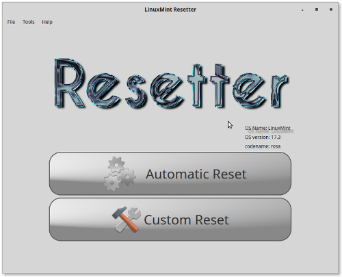 Resetter setzt Ubuntu oder Linux Mint zurück (Quelle: github.com)