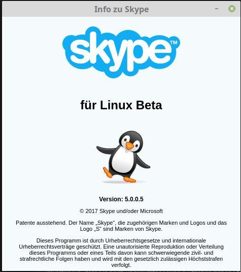 Skype 5.0 für Linux Beta