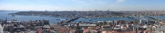 Istanbul vom Galata-Turm gesehen