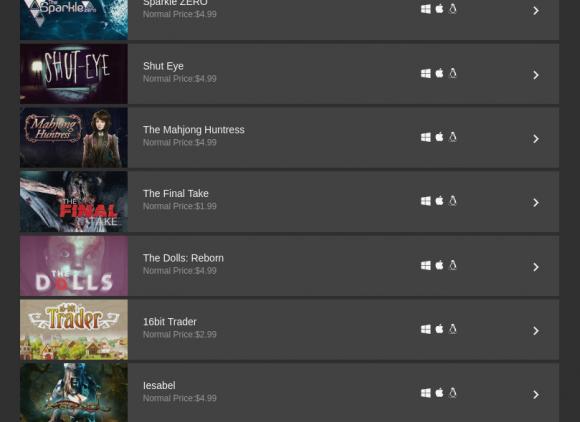 Dollar Forever Bundle mit 24 Spielen für Linux