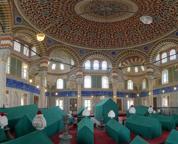 Grab eines Sultans und seiner Familie