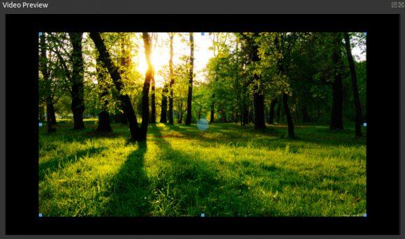 OpenShot 2.3: Transformieren (Quelle: openshot.org)