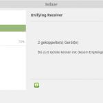 Mit Solaar Logitech Unifying Receiver unter Linux konfigurieren (Geräte paaren / koppeln)