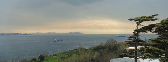 Lichtspektakel am Bosporus