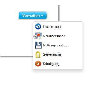 Umzug: Meine Website läuft auf dem root-Server und so habe ich es gemacht