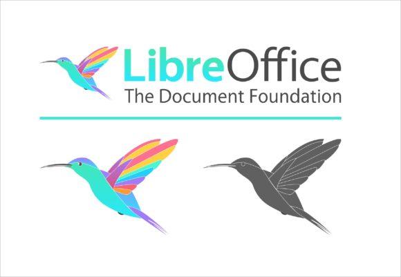 Kolibri (©Andy Betts) - LibreOffice sieht so sehr freundlich aus