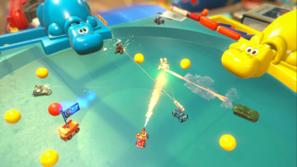 Micro Machines World Serie und die Hungry hungry Hippos (Quelle: steampowered.com)