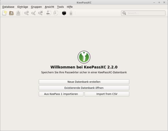 KeePassXC 2.2.0 AppImage