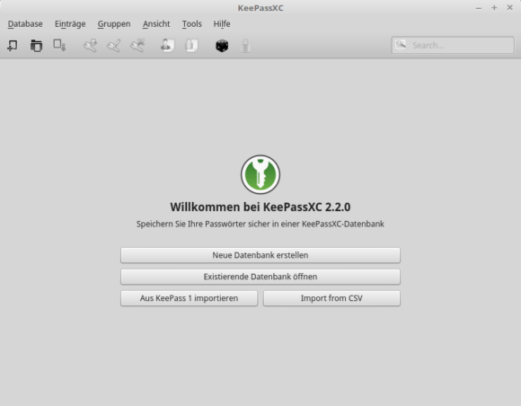 KeePassXC 2.2.0 deb-Paket
